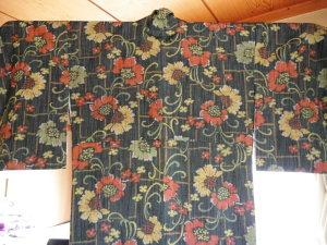 3枚目の袷衿先縫い