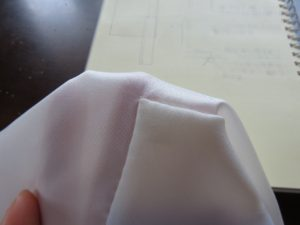 エキゾチックな柄の紬